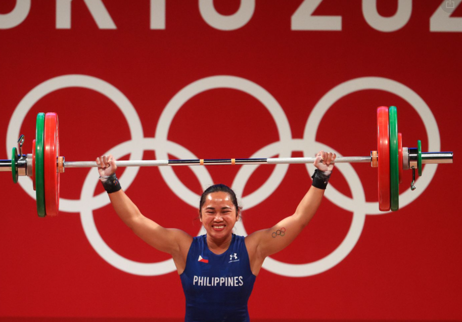 Remarkable Goal of Weightlifting Champion Hidilyn Diaz